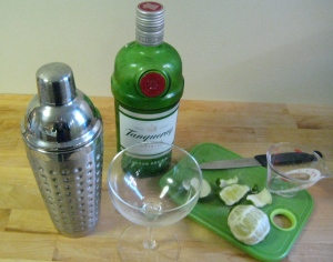 making the modern martini